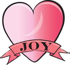 300x277 Joy Heart Clipart Image