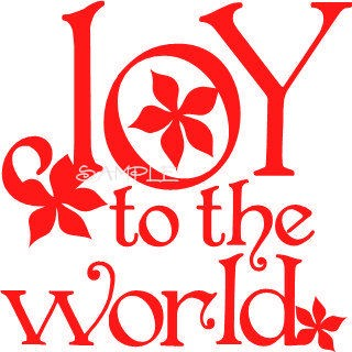 320x320 Joy To The World Clipart