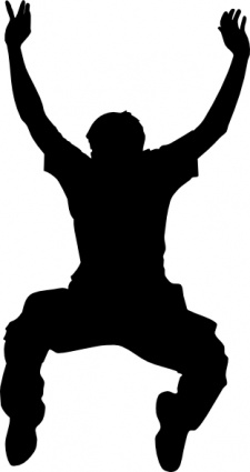225x425 Jumping Clipart