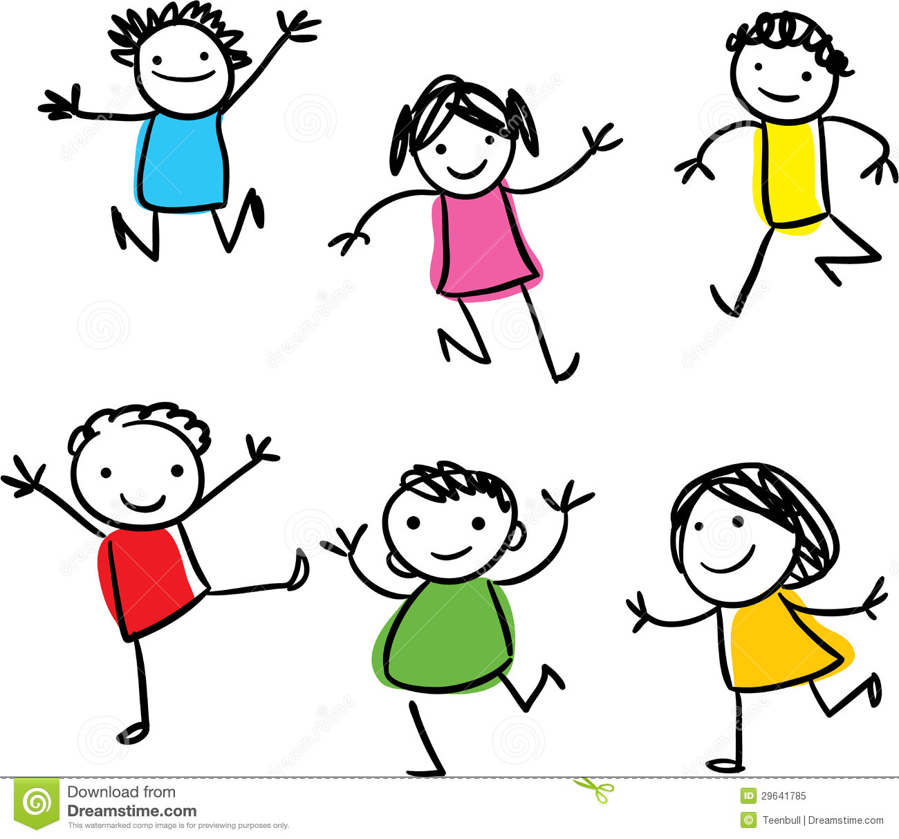 1300x1213 Happy Kids Clipart Black And White