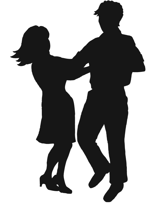 612x792 Clipart Couple Dancing