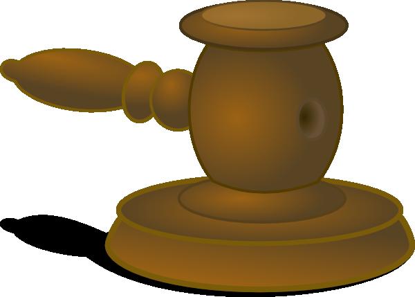 600x429 Judge Hammer Clip Art