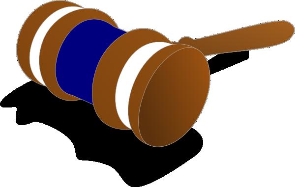 600x381 Justice Gavel Color Blue Clip Art