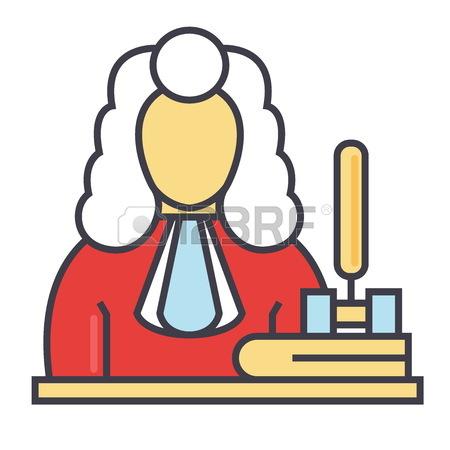 450x450 793 Judge Wig Cliparts, Stock Vector And Royalty Free Judge Wig