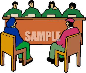 350x297 Panels Clipart Panel Judge