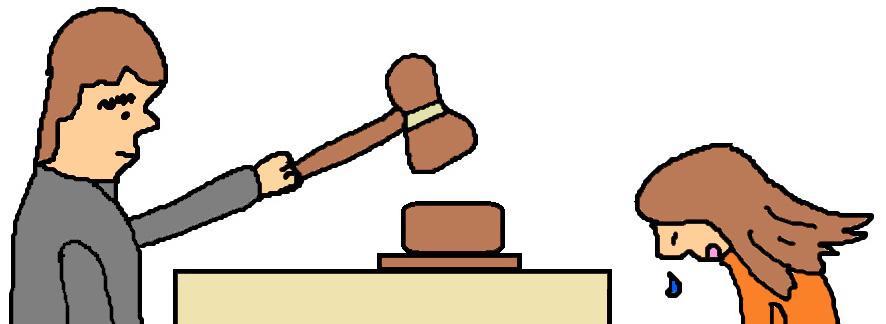 886x324 Woman Judge Clipart