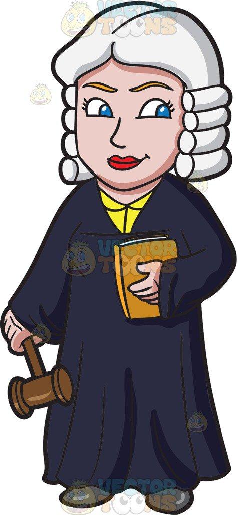 475x1024 Judge Clipart