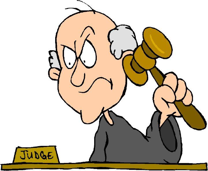 720x592 Cartoon Judge Clipart