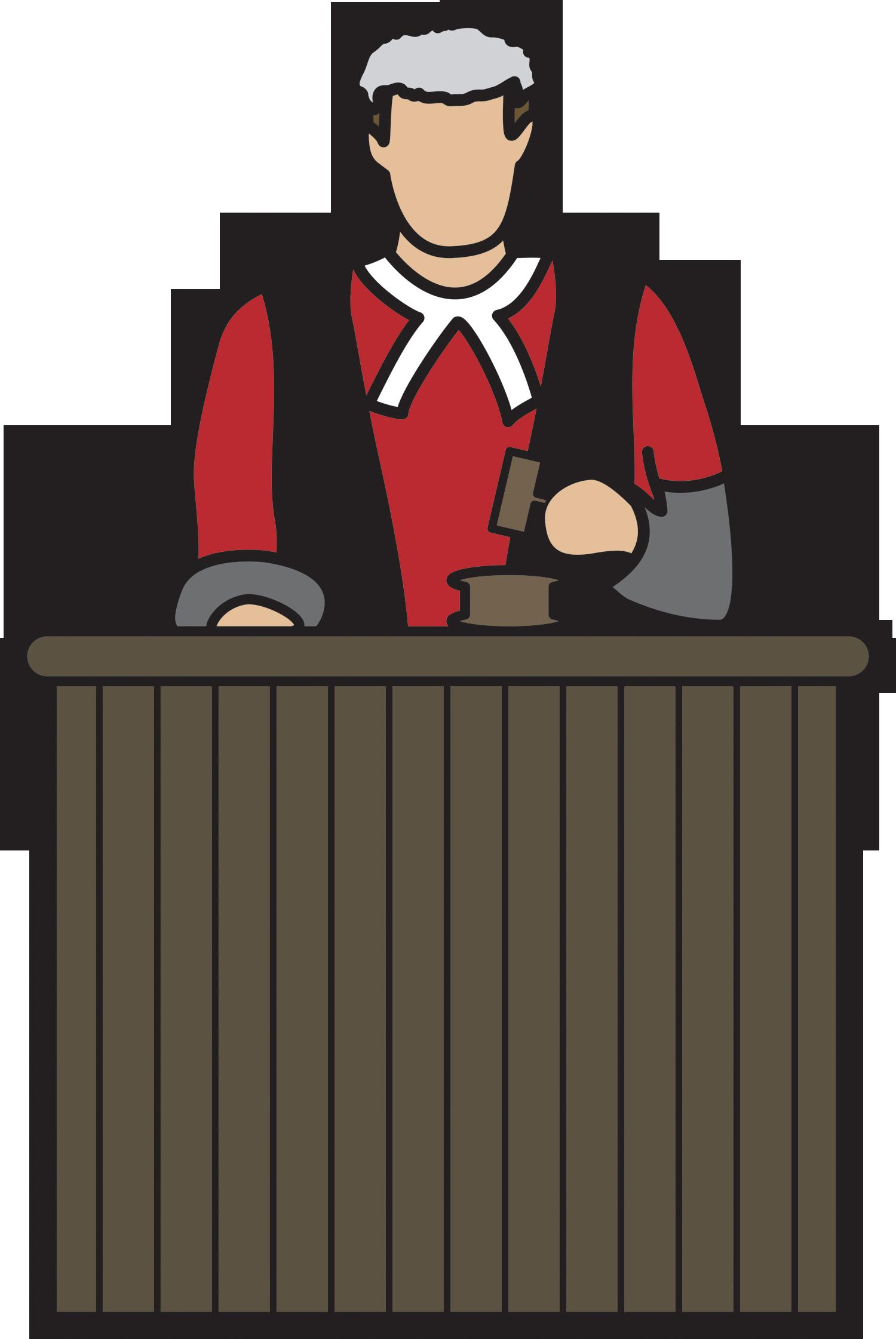 1500x2242 Cartoon Judge
