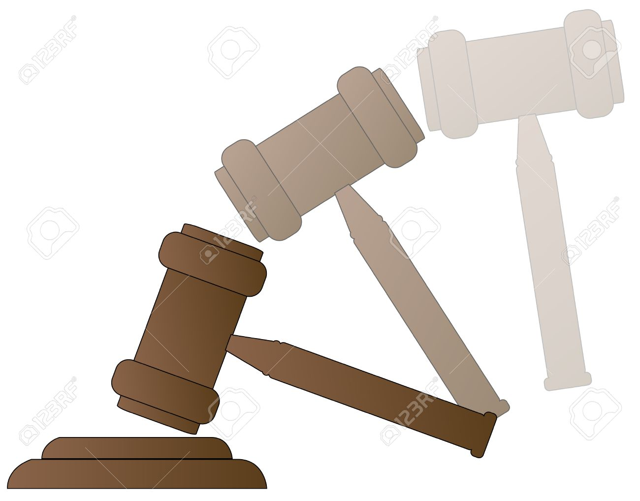 1300x1018 Wood Gavel Hammer Of Auctioneer Or Judge With Motion
