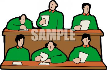 350x230 Royalty Free Clip Art Image Panel Of Judges