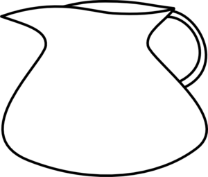 300x255 Blank Water Pitcher Clip Art