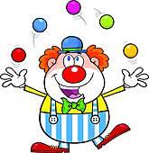 165x170 Juggling Clip Art