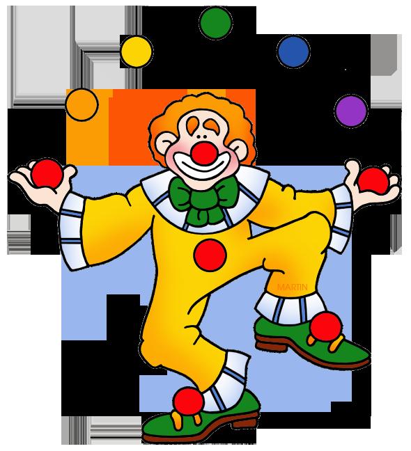 590x648 Juggling Clown Clipart