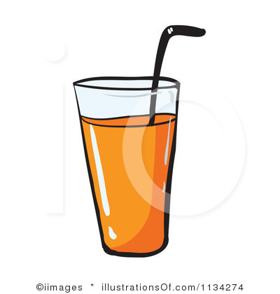 400x420 Juice Black And White Clipart