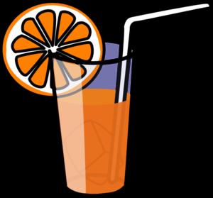 300x279 Orange Juice Clip Art