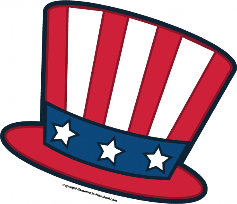 820x704 Free July 4th Clipart Intended For Clip Art 4th Of July Hat Clip