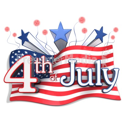 400x400 Flag Clipart 4th July