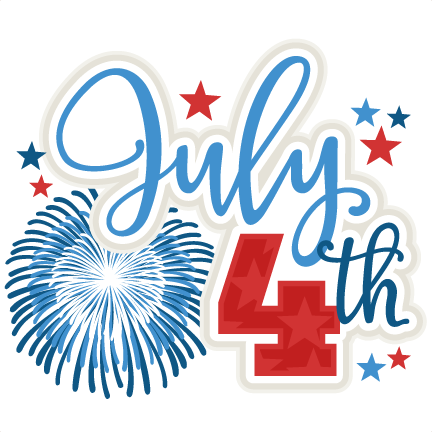 432x432 July 4th Title Svg Scrapbook Cut File Cute Clipart Files