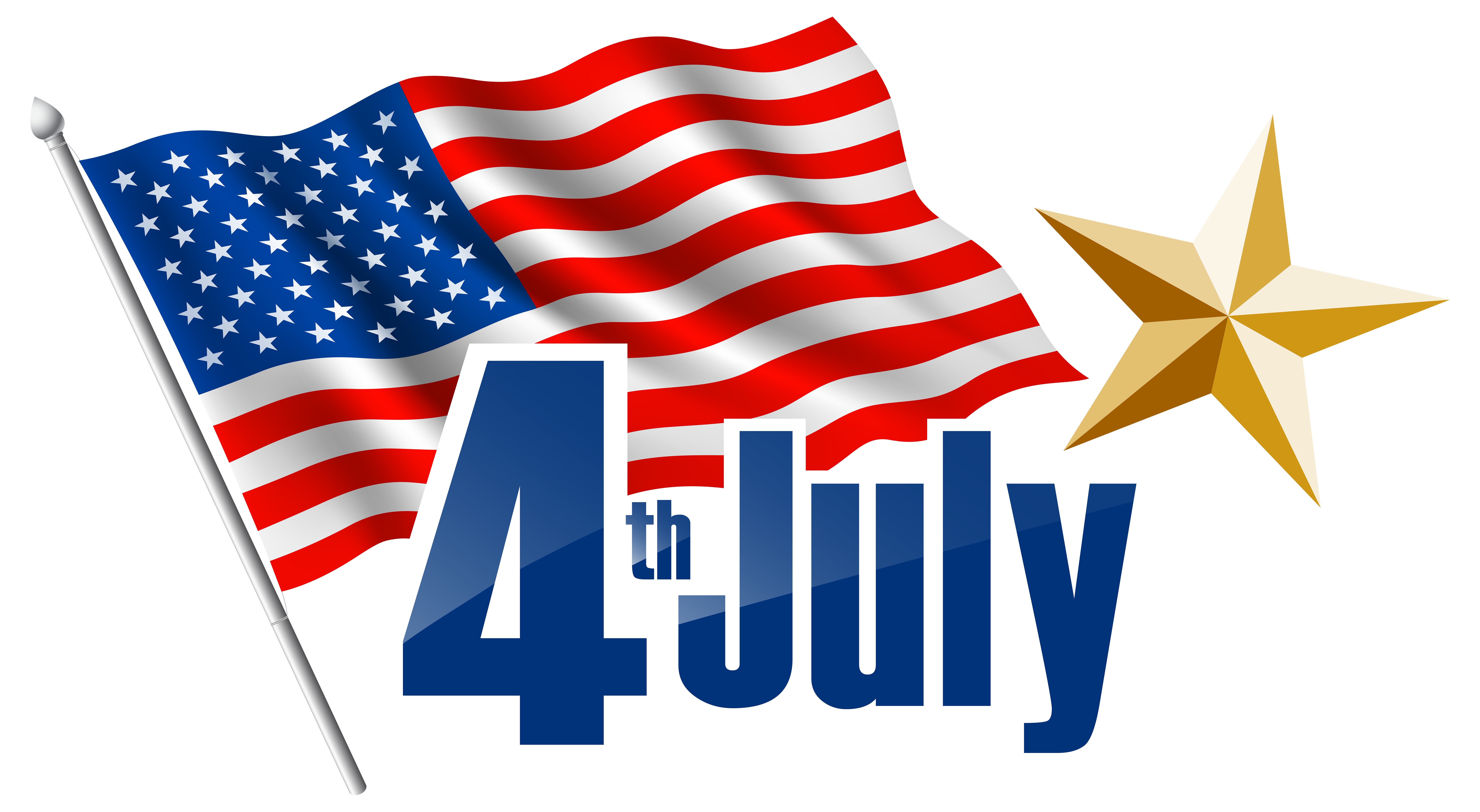 8342x4578 July 4th Free Clip Art Clipart Collection