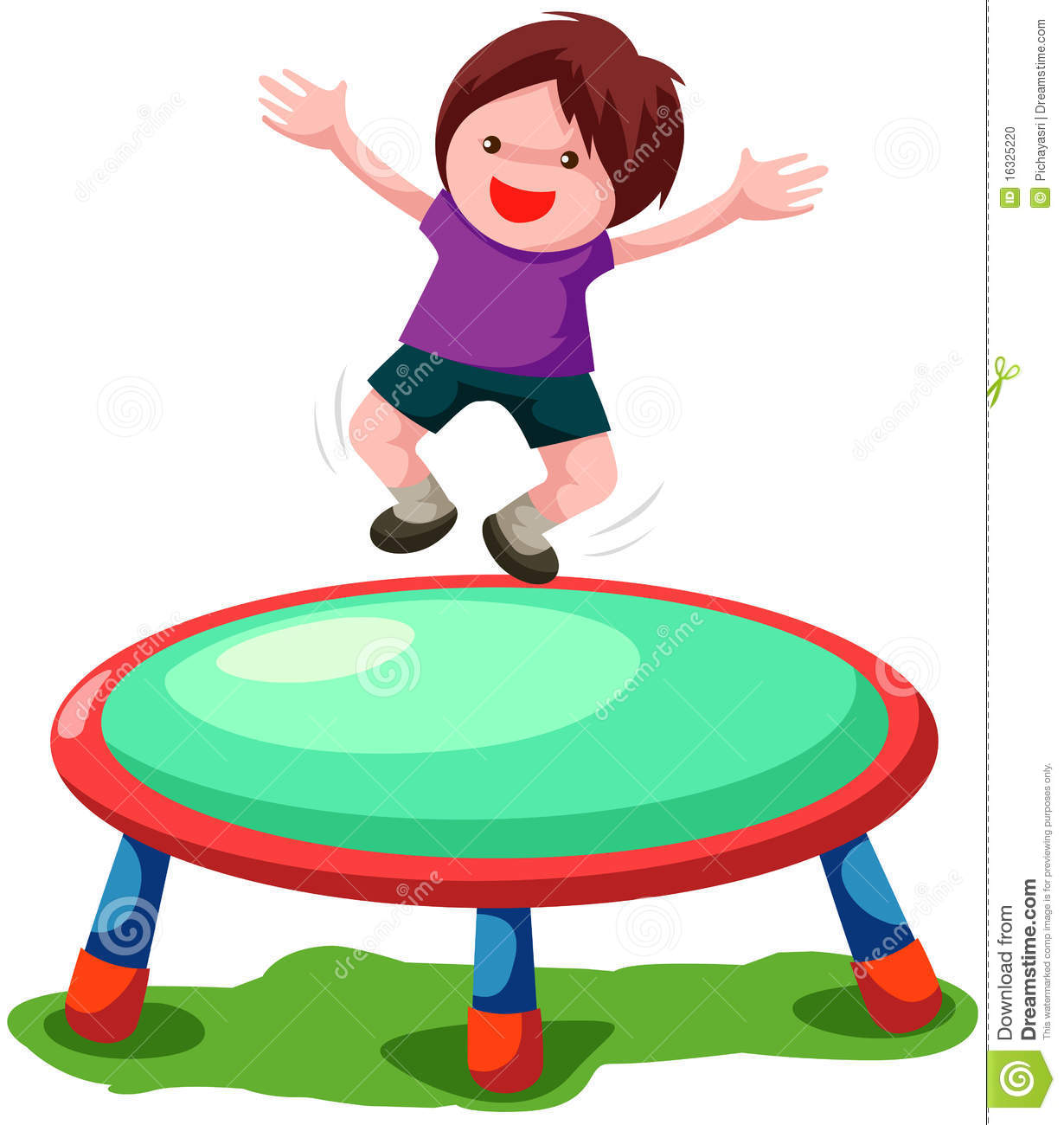 1230x1300 A Jump On Trampoline Clipart