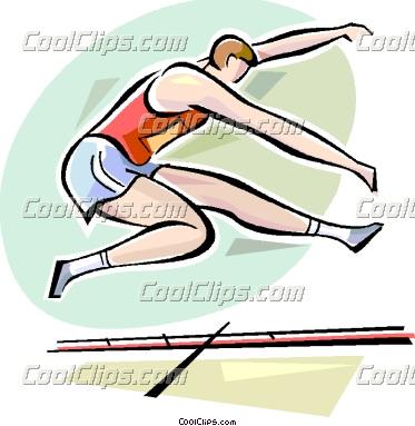 373x383 Long Jump Clip Art Long Jump Clipart Panda