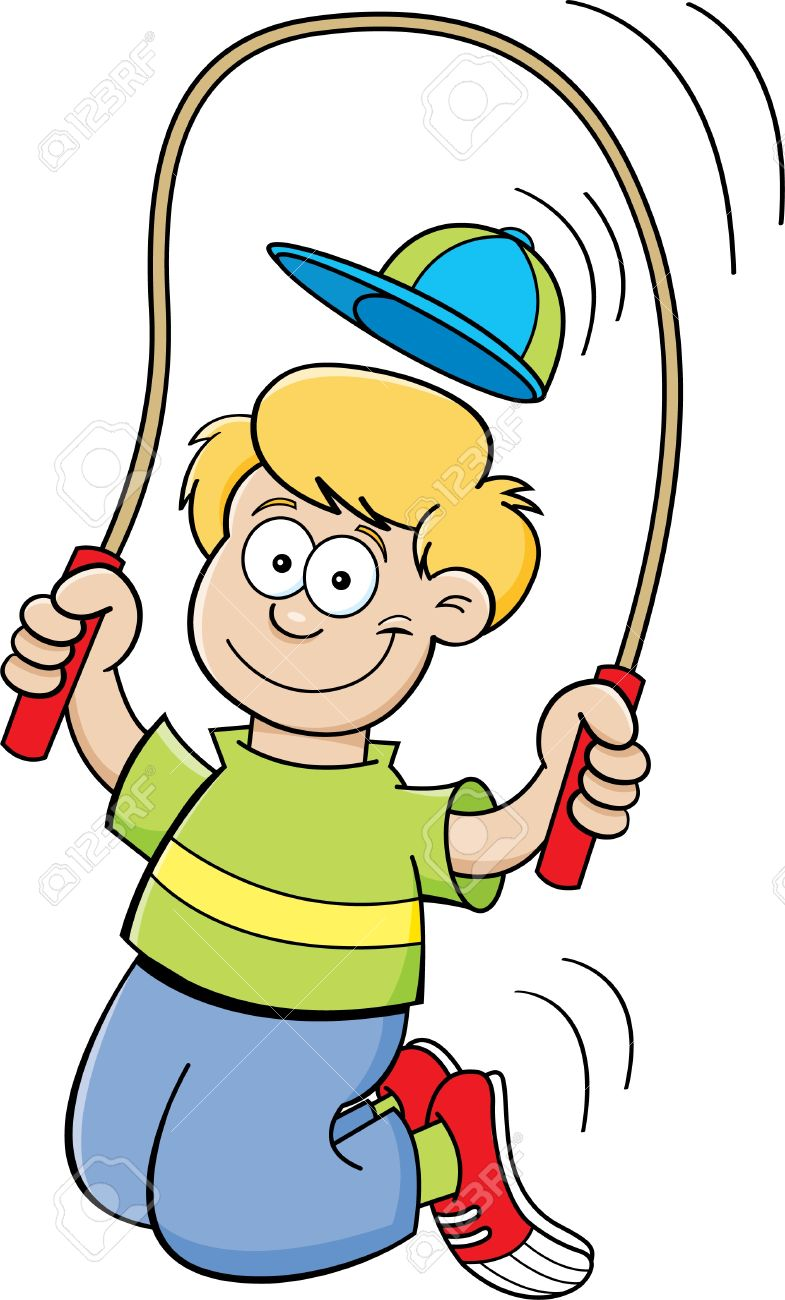 785x1300 Jumping Rope Clipart