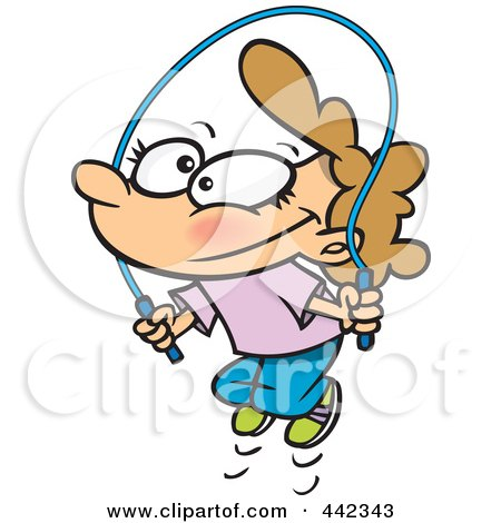 450x470 Royalty Free (Rf) Jump Rope Clipart, Illustrations, Vector Graphics