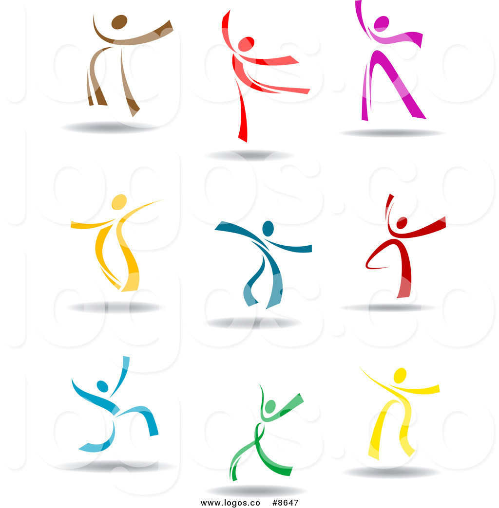 1024x1044 Royalty Free Clip Art Vector Logos Of Happy Colorful People