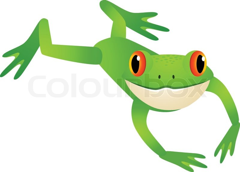 800x575 Toad Clipart Frog Hopping