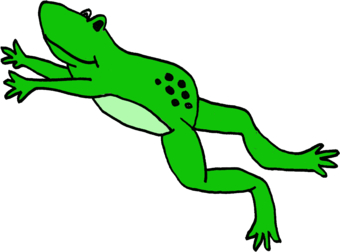 340x252 Toad Clipart Frog Jump