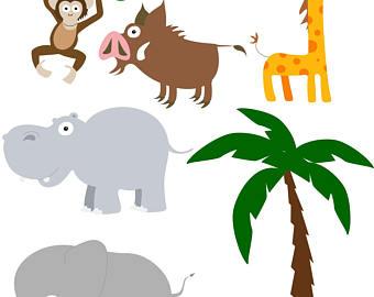 340x270 Jungle clip art Etsy
