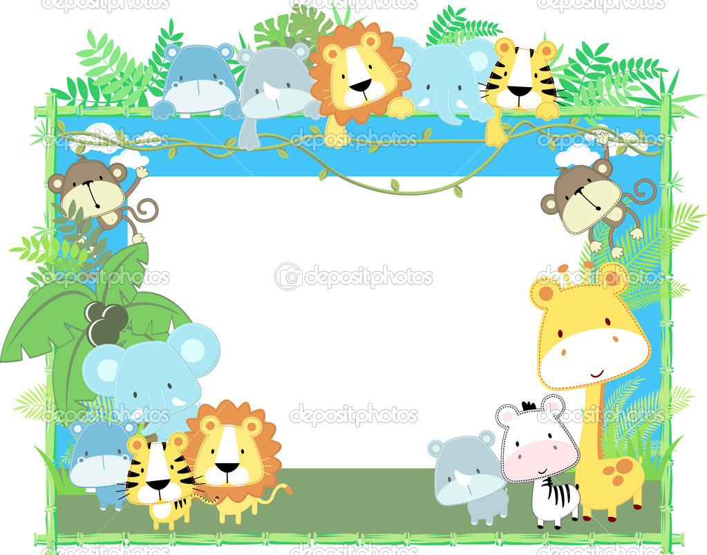 jungle animals clipart free download best jungle animals Baby Boy Shower Clip Art Jungle Baby Shower Clip Art