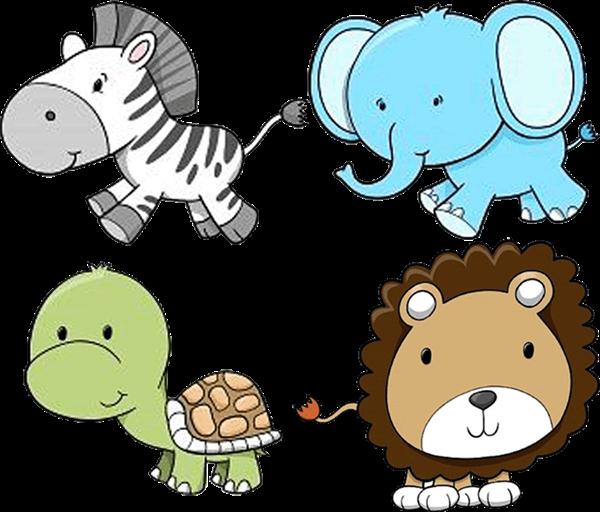 600x512 Baby Zoo Animals Clipart
