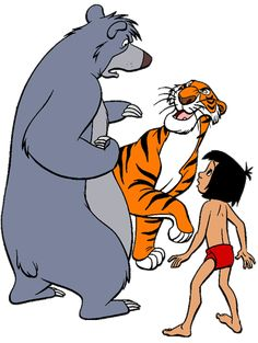 236x313 Baloo, Shere Khan Amp Mowgli ~ The Jungle Book, 1967 The Jungle
