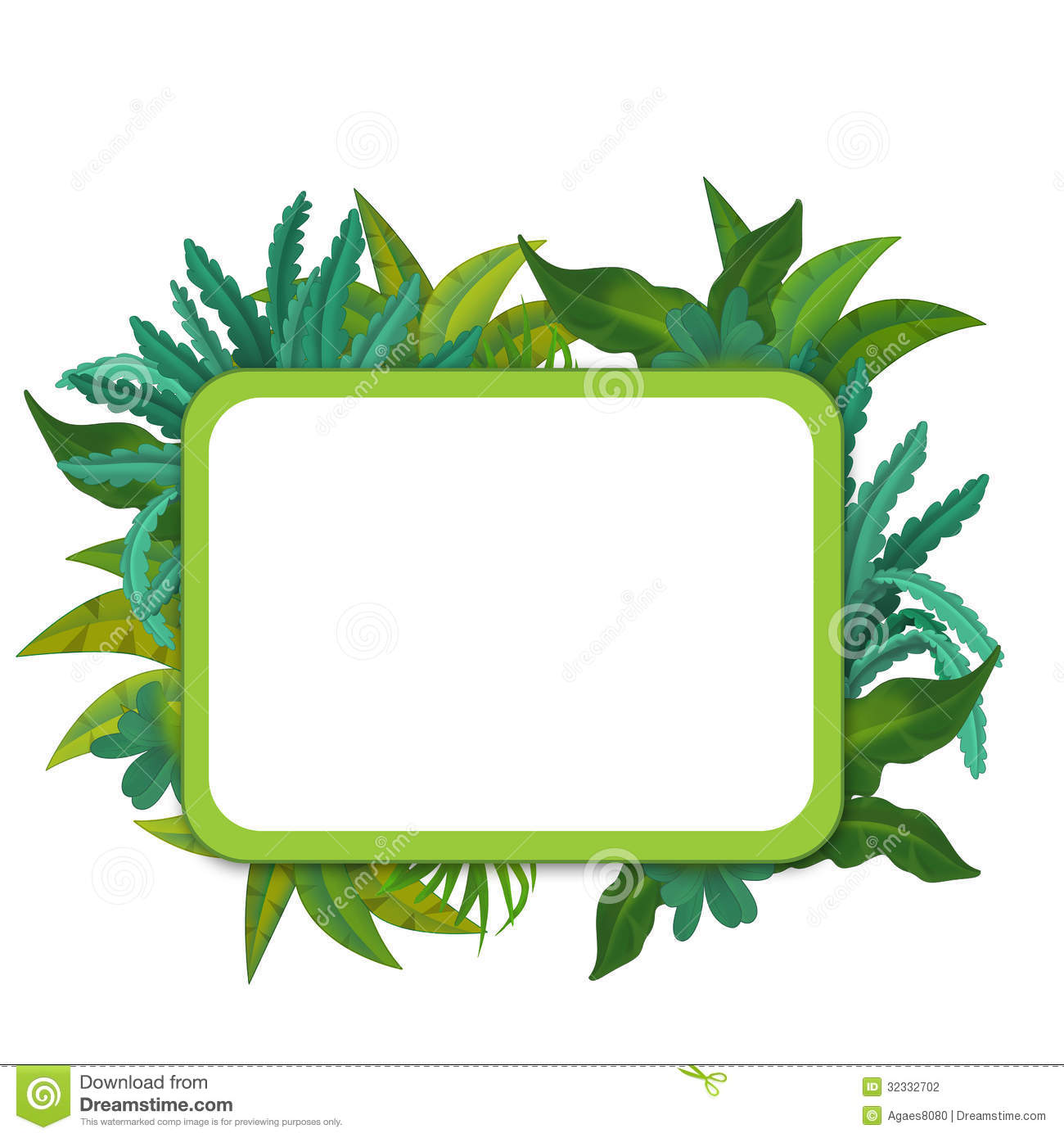 1300x1390 Jungle Theme Border Clipart