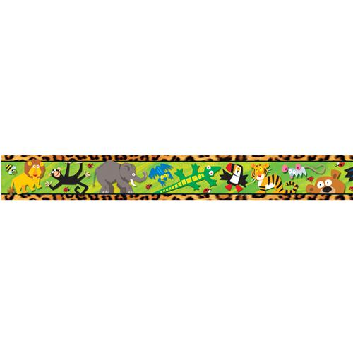 500x500 Jungle Themed Border Clip Art