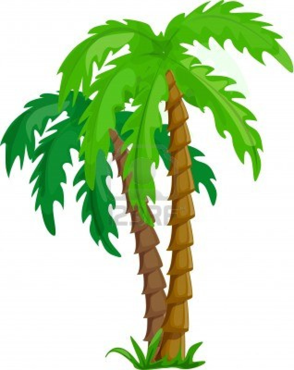 954x1200 Jungle Trees Clipart