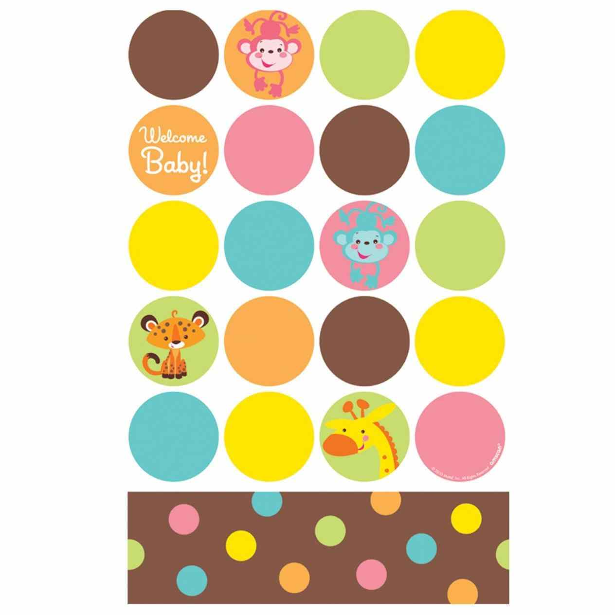 1264x1264 Border Clip Art Safari Animals Vector Clipart Baby Girl Quilts