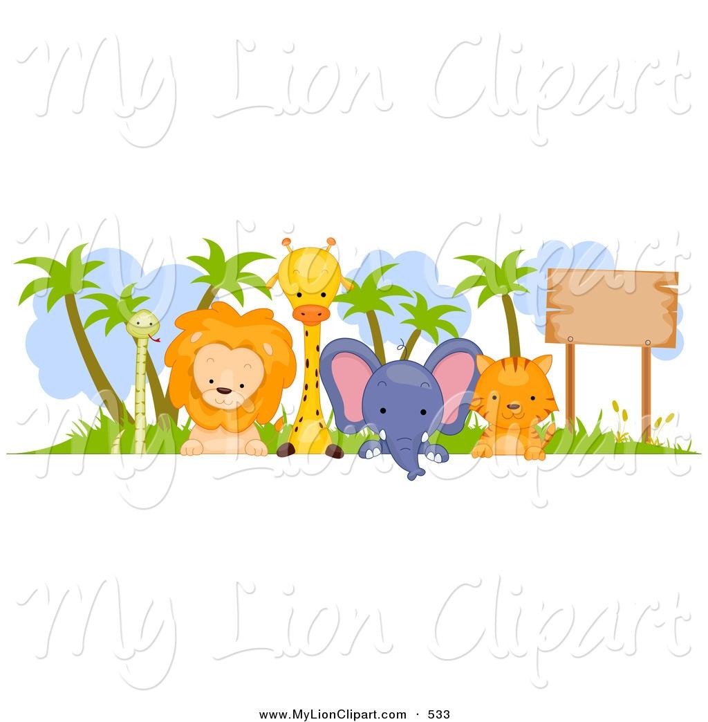 1024x1044 Baby Animal Clipart Border