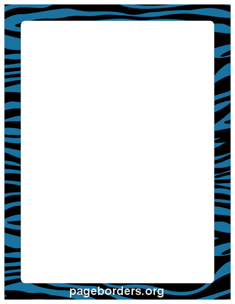 470x608 Free Animal Borders Clip Art, Page Borders, And Vector Graphics