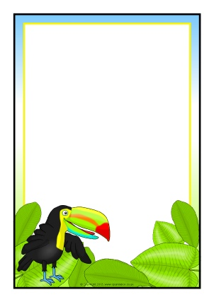 302x427 Jungle Animals Primary Teaching Resources And Printables
