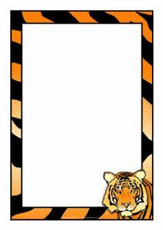 236x333 Zebra A4 Page Borders (Sb9226)