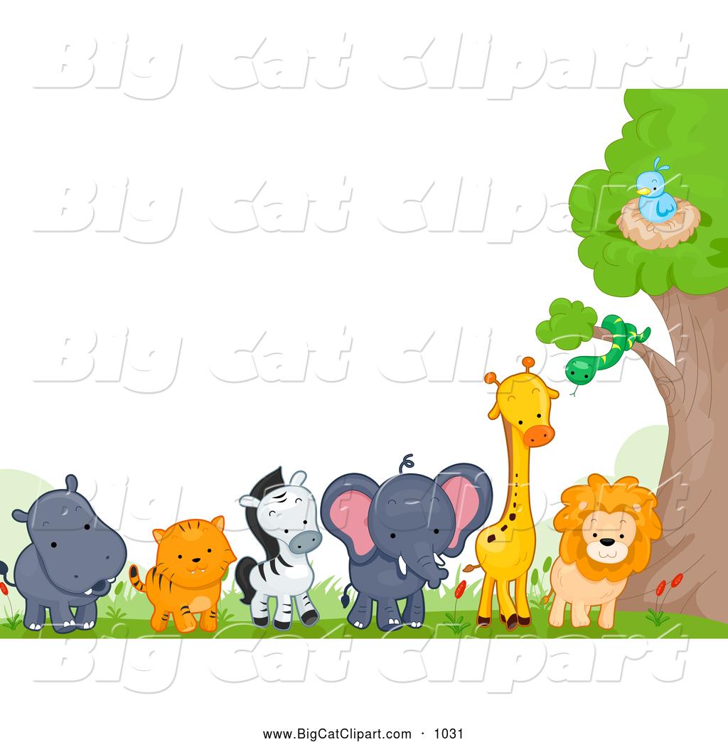 1024x1044 Zoo Clipart Frame