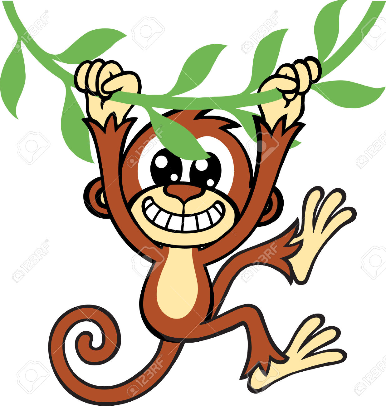 1237x1300 Monkey Jungle Clipart, Explore Pictures