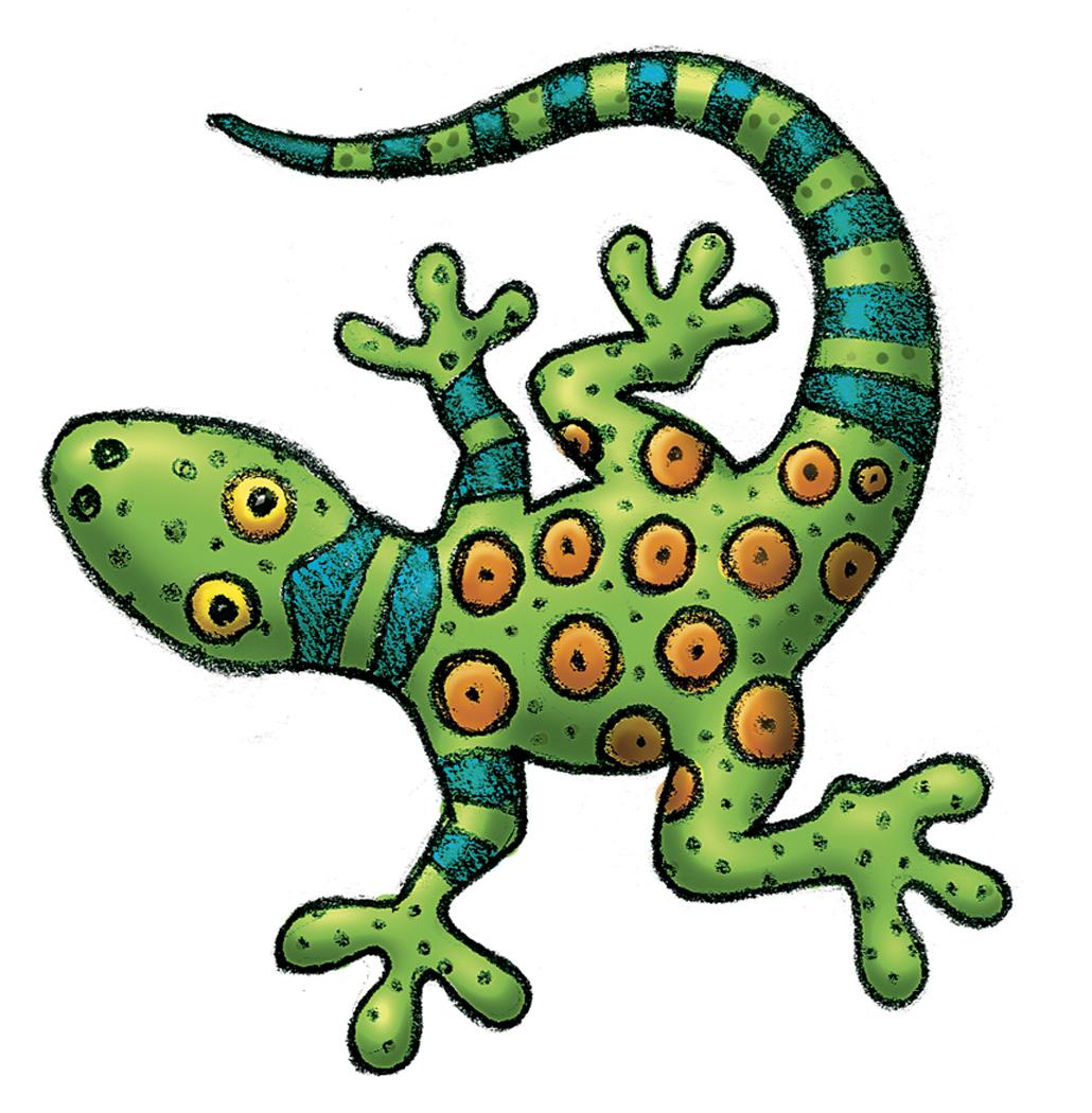 1030x1050 Jungle Clipart Lizard