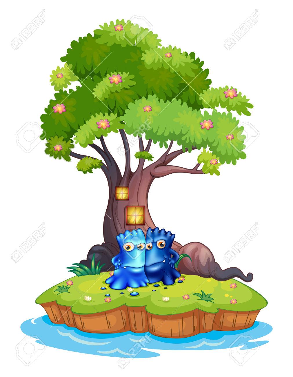1011x1300 Jungle Clipart Tree House