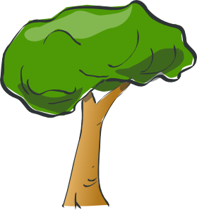 279x298 Tree Clipart Transparent Background