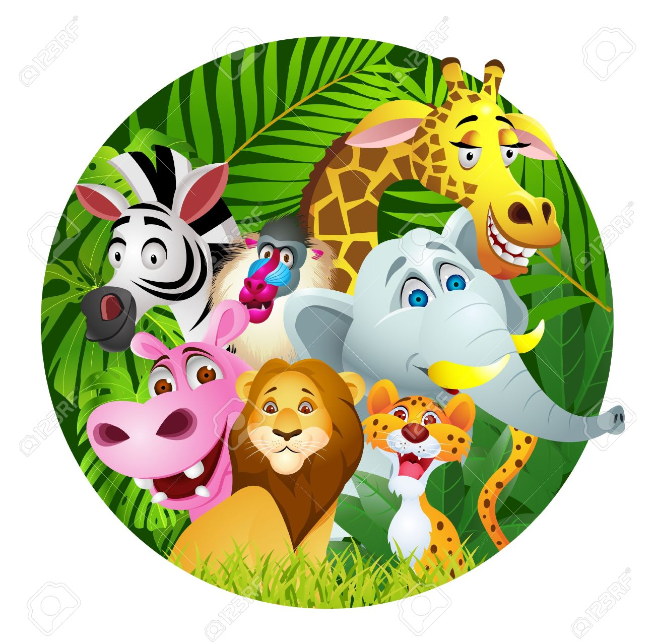 Jungle Clipart Free