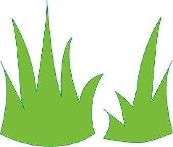 340x290 Grass Clip Art Free